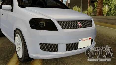 GTA 5 Asea DeClasse v2 IVF para GTA San Andreas vista traseira