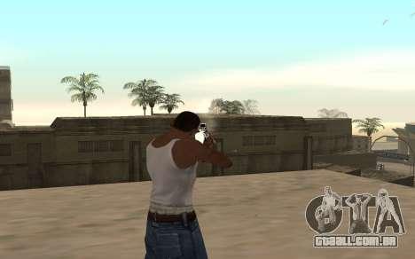 M4 c filhote para GTA San Andreas terceira tela