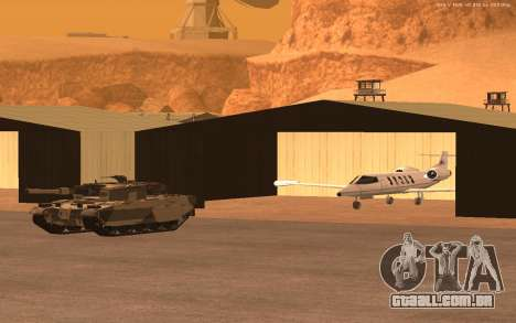 Nova Base Militar v1.0 para GTA San Andreas