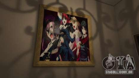 GTA 5 Anime cartazes para a casa de Michael quinta imagem de tela