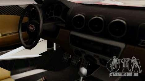 Vapid Bullet GT-GT3 para GTA San Andreas vista direita