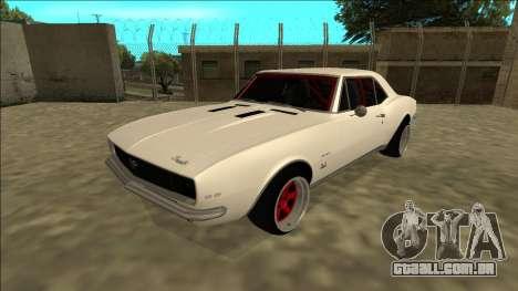 Chevrolet Camaro SS Drift para GTA San Andreas