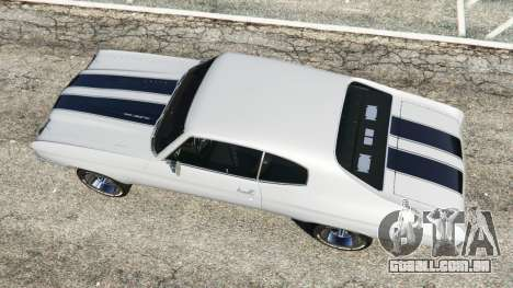 GTA 5 Chevrolet Chevelle SS 1970 v1.0 voltar vista