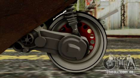 Zip SP Rat Style para GTA San Andreas vista traseira