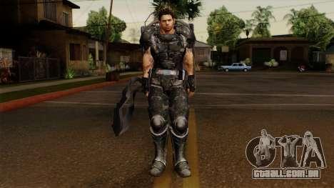 Chris Heavy Metal para GTA San Andreas segunda tela