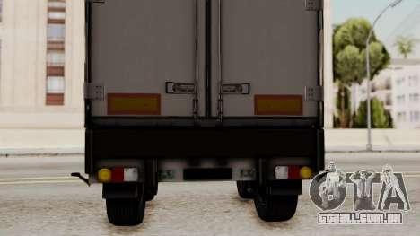 Cooliner Trailer from ETS 2 para GTA San Andreas vista direita