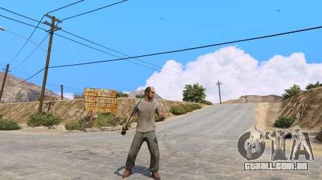 GTA 5 Cimitarra de Skyrim segundo screenshot