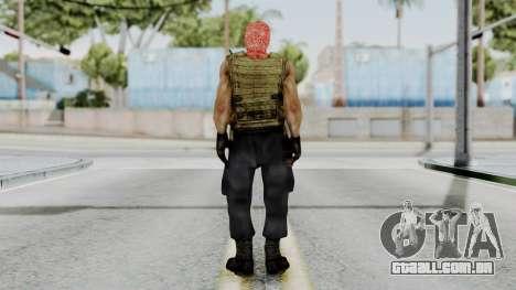 Terrorist para GTA San Andreas terceira tela