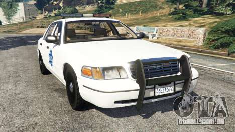 Ford Crown Victoria 1999 Police v0.9 para GTA 5
