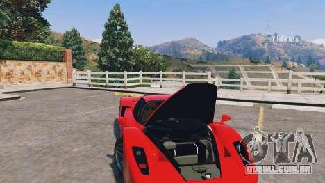GTA 5 Ferrari Enzo v0.5 vista lateral direita