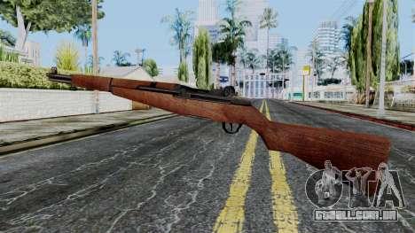 M1 Garand from Battlefield 1942 para GTA San Andreas segunda tela