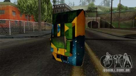 Brasileiro Satchel v2 para GTA San Andreas