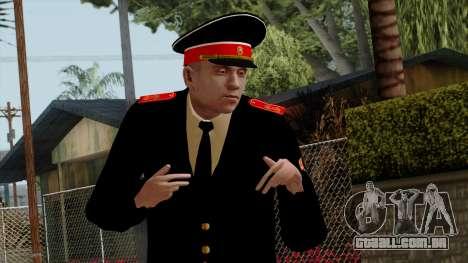 Vice-Sargento Kazan VCA v2 para GTA San Andreas