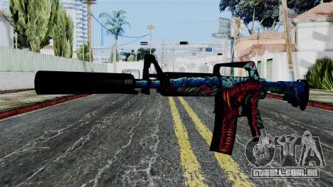 M4A1-S Hyper Beast para GTA San Andreas
