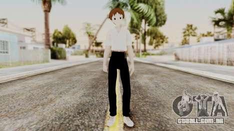 Shinji Ikari (Evangelion) para GTA San Andreas segunda tela