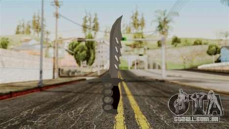 A faca para GTA San Andreas