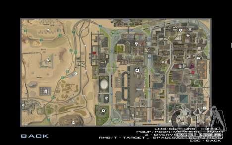 HD cartão para Diamondrp para GTA San Andreas quinto tela