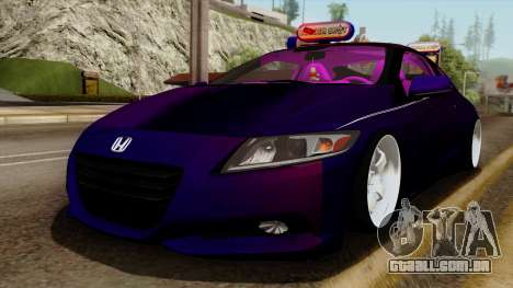 Honda CRZ Hybrid para GTA San Andreas