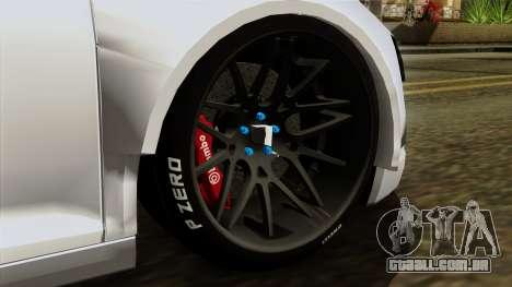 Audi R8 v1.0 Edition Liberty Walk para GTA San Andreas traseira esquerda vista