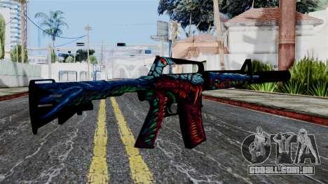 M4A1-S Hyper Beast para GTA San Andreas segunda tela