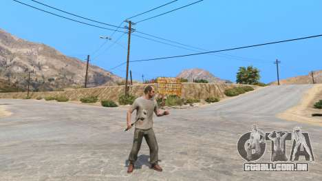GTA 5 Martelo de Shao Kahn, a partir de Mortal Kombat segundo screenshot