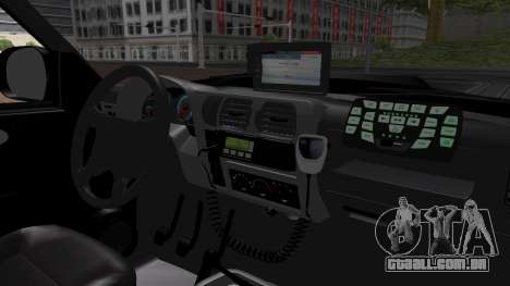Chevrolet Blazer 2010 para GTA San Andreas vista traseira