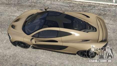 GTA 5 McLaren P1 2014 v1.2 voltar vista