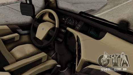Volvo FH Euro 6 10x4 Exclusive Low Cab para GTA San Andreas vista direita