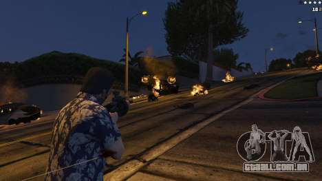 GTA 5 4K Fire Overhaul 2.0 sétima screenshot
