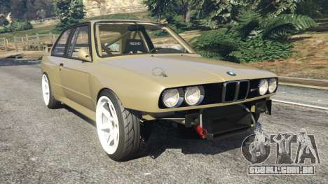 BMW M3 (E30) 1991 Drift Edition v1.0 para GTA 5