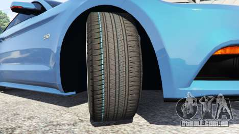 GTA 5 Ford Mustang GT 2015 vista lateral direita