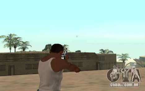 Rifle com um filhote de tigre para GTA San Andreas terceira tela