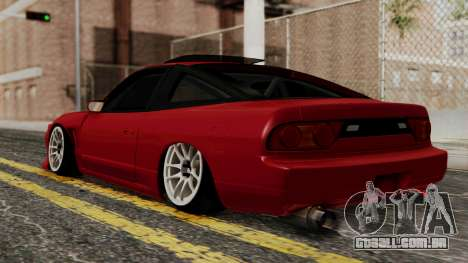 Nissan Silvia Odyvia para GTA San Andreas esquerda vista