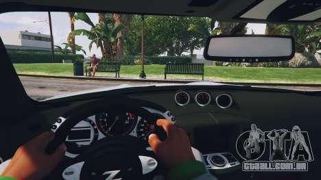 GTA 5 Nissan 370z voltar vista