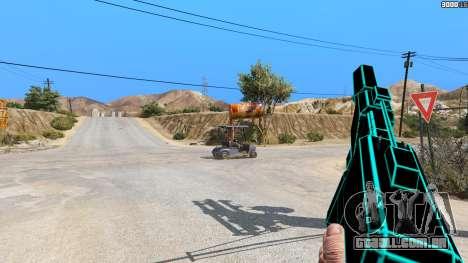 GTA 5 Saints Row 3 Cyber SMG Emissive v1.01 segundo screenshot