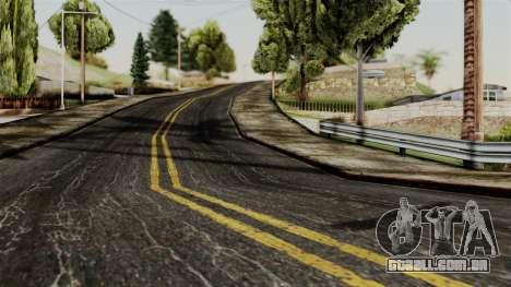 BlackRoads v1 LS Kenblock para GTA San Andreas