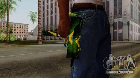 Brasileiro Micro Uzi v2 para GTA San Andreas terceira tela