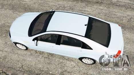 GTA 5 Chevrolet Caprice LS 2014 voltar vista