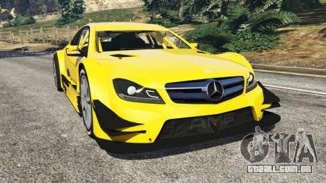 Mercedes-Benz C204 AMG DTM 2013 para GTA 5