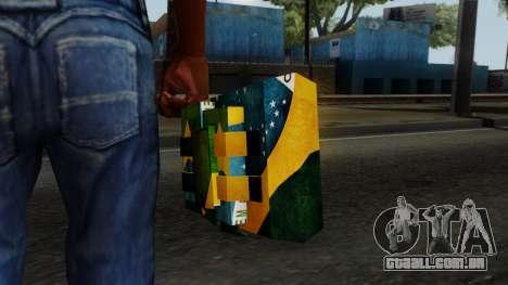Brasileiro Satchel v2 para GTA San Andreas terceira tela