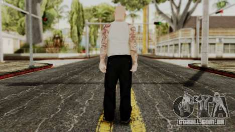 Alice Baker Young Member without Glasses para GTA San Andreas terceira tela