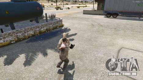 GTA 5 Martelo de Shao Kahn, a partir de Mortal Kombat quinta imagem de tela