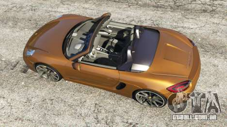 GTA 5 Porsche Boxster GTS voltar vista