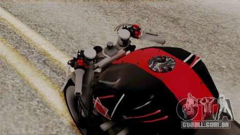 Byson Street Fighter para GTA San Andreas vista traseira