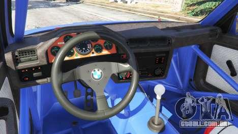 GTA 5 BMW M3 (E30) 1991 volante