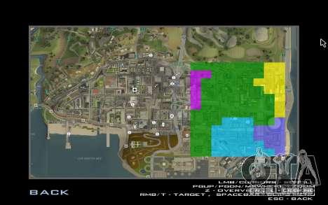 HD cartão para Diamondrp para GTA San Andreas por diante tela
