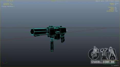 GTA 5 Saints Row 3 Cyber SMG Emissive v1.01 nono screenshot