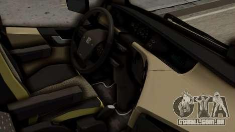 Volvo FH Euro 6 10x4 Exclusive High Cab para GTA San Andreas vista direita