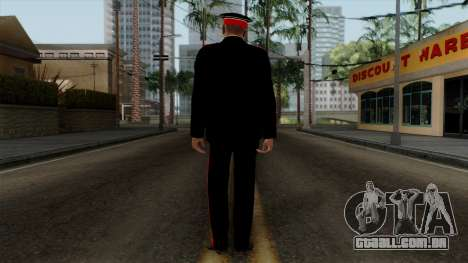 Vice-Sargento Kazan VCA v2 para GTA San Andreas terceira tela