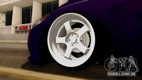 Honda CRZ Hybrid para GTA San Andreas traseira esquerda vista